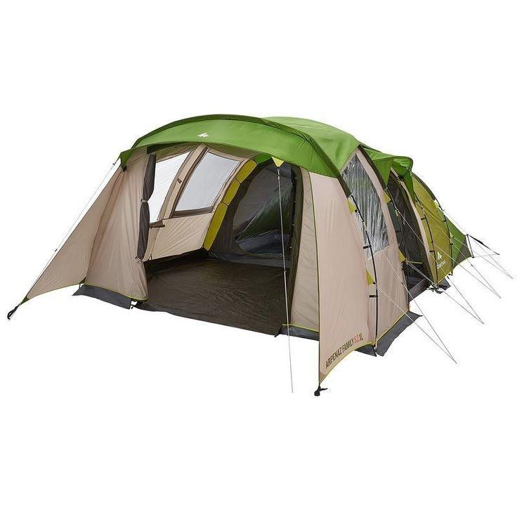 Tente Familiale T5.2 XL- 5 personnes, 2 chambres