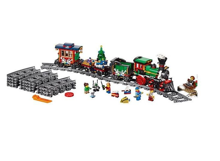 Winter Holiday Train Lego Creator Authentic Building Toys #LEGO