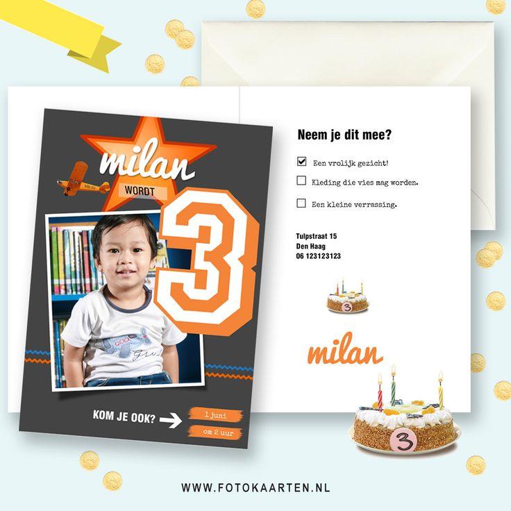 We hebben een nieuw leuk voorbeeld voor de kinderfeestjes, dus heb je binnenkort een uitnodiging voor je feestje nodig, of ken je iemand die jarig is, http://www.fotokaarten.nl/