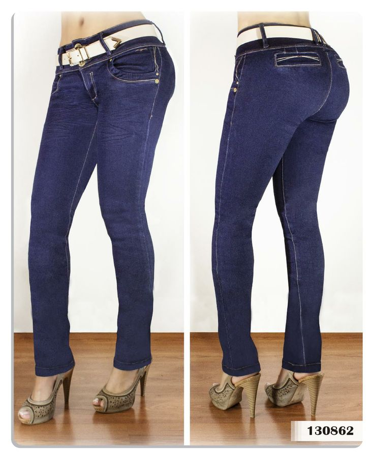 Jeans para mujer color azul bota tubo-Sexy, yet Casual #Fashion #sexy #woman #womens #fashion #neutral #casual #female #females #girl #girls #hot  #hotlooks #great #style #styles #hair #clothing  www.ushuaiajean.com.co