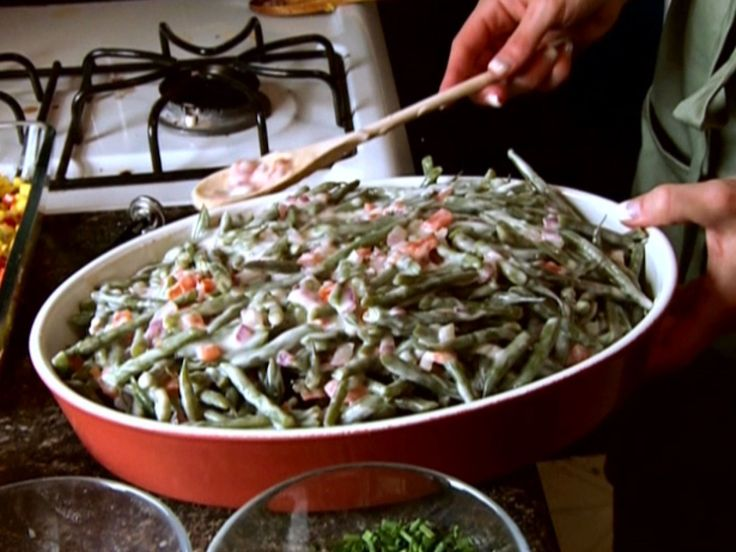 Green Bean Casserole recipe from Robert Irvine via Food Network