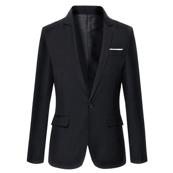 Men Fashion Slim Casual Solid Color Masculine Blazer – Ecstacy Shop  Shop & Save !!!   #EcstacyShop #OnlineShopping #OnlineMarketing #BillionaireDrummer #Fashion #Marketing #ecommerce #Retail #OnlineStore