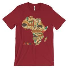 I think that it is important to be proud of your heritage no matter what it is.  I know people from all different backgrounds and it is always inspiring to learn how they were raised and their different backgrounds.  This shirt displays Africa but there is a lot that can be learned from it.  All of the animals and the print on it display a part of the African culture.