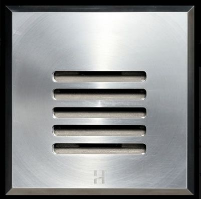 Hunza Step Lites are designed with an 88mm (3½) flange and recessed body for flush mounting into masonry, stone or wood, providing illumination of steps and low level features.