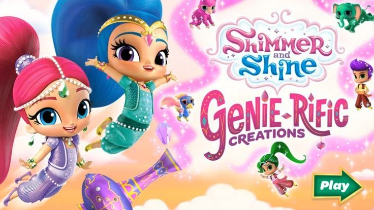 Shimmer and Shine Genie-Rific Creations | Kids Games Online Videos