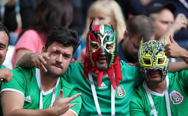Los aficionados mexicanos en  la Copa de la Confederaciones