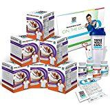 Yes You Can! Diet Plan Transform Kit On The Go: Meal Replacement Shakes 30 Fat Burner Pills 30 Appetite Suppressant Pills 30 Colon Cleanser Pills 30 Collagen Pills 1 Bilingual Transform Guide (Spanish/english) 1 Shaker Bottle 1 Yes You Can! Diet Plan Heart Shaped Band1 Certificate of Success and 1 Yes You Can! Diet Plan Sticker (Coffee 60 Meal Replacement Shakes)