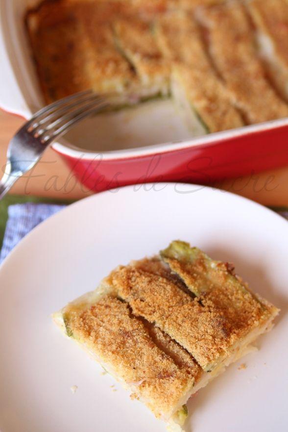 Sformato di zucchine ricetta