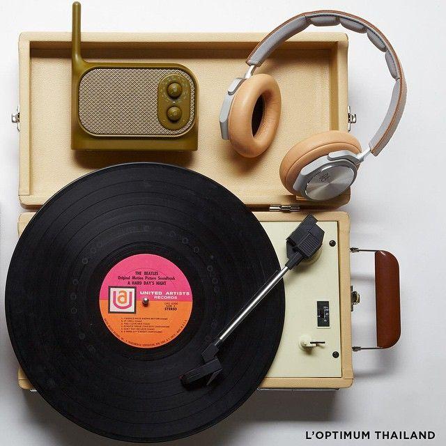 BOY'S TOYS การเสพอรรถรสทางดนตรีถือเป็นกิจกรรมยามว่างของผู้ชาย....เครื่องเสียง และไอเท็มชิ้นหล่อต่อไปนี้ จึงสำคัญ!  #LOptimumthailand.com #BangandOlufsen #Crosley #Lexon #Gadget #Toys
