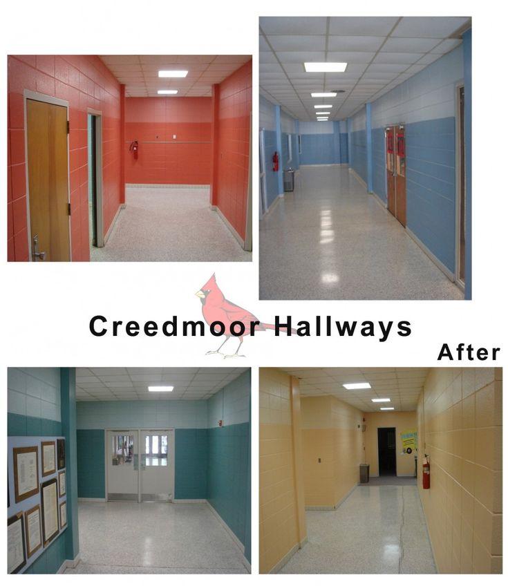Creedmoor Elementary School Hallways After