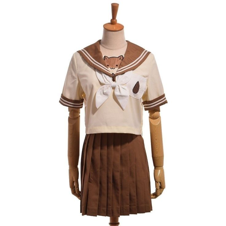 Japanese Hamster School Jk Uniform Girl Lolita Outfit Sailor Shirt Pleated Skirt