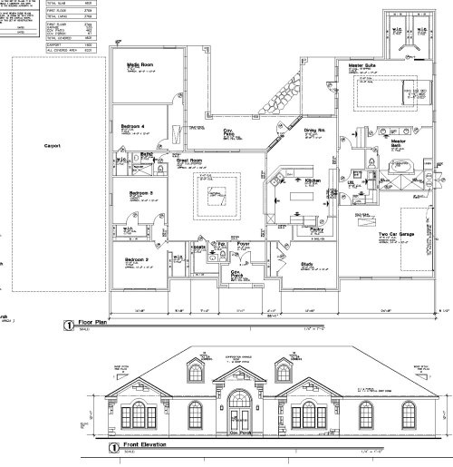 Image detail for -Home House Plans Blueprints - Custom Home Plan Service - Alfred ...