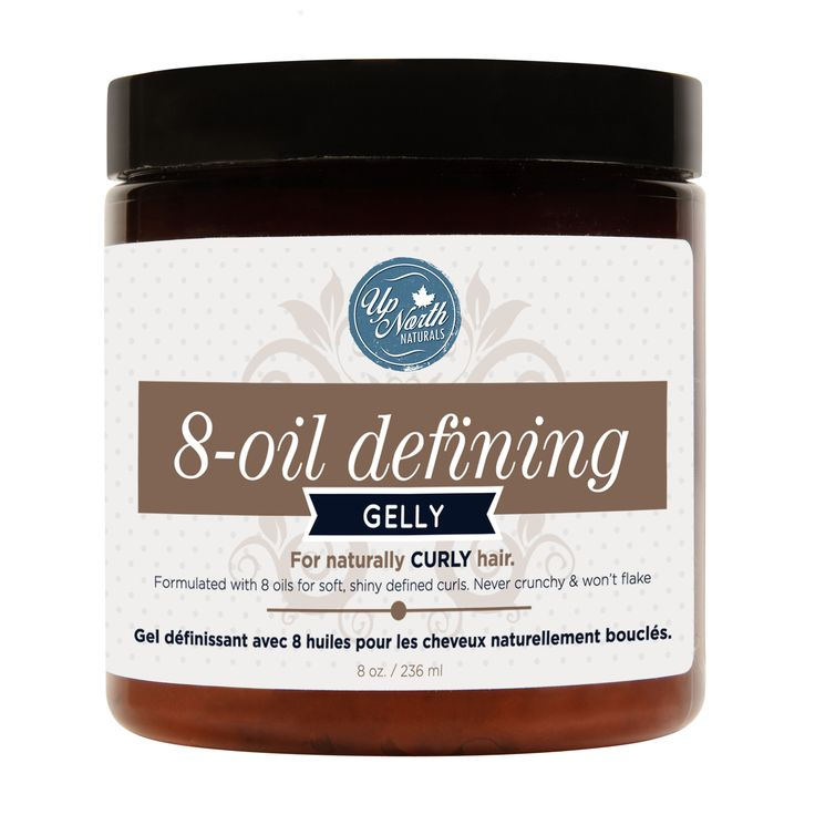 Up North Naturals 8 Oil Hair Gelly