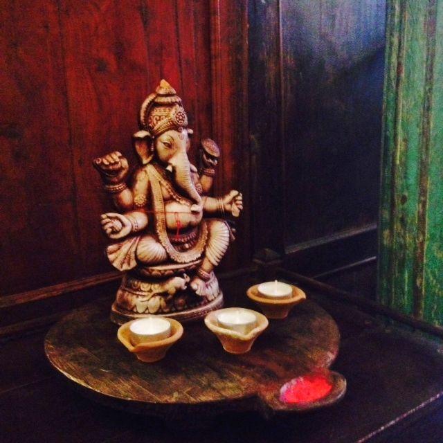terracotta ganesh at durga interiors   durgainteriors.com