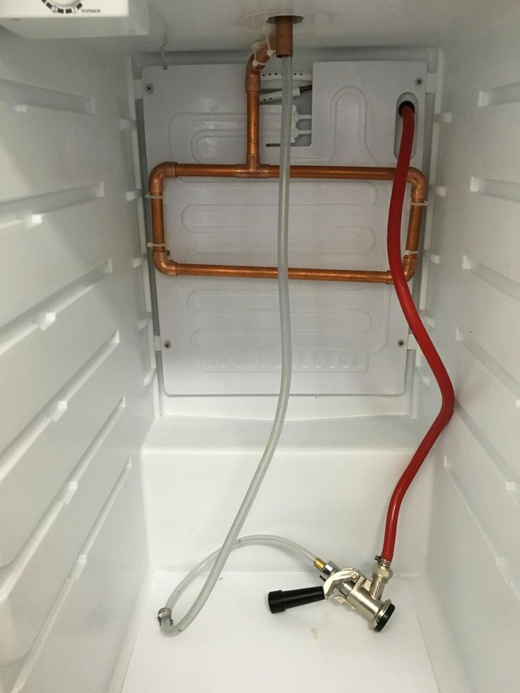 This is the third rev I've done for a heat sink in a kegerator. Copper tube houses the beer line and pulls heat from the tower passively. I mounted the sink next to the fridge evaporator to keep it cold.   Packed the tower with foam pipe insulation and added a copper wire at the top end of the line to the faucet nut.