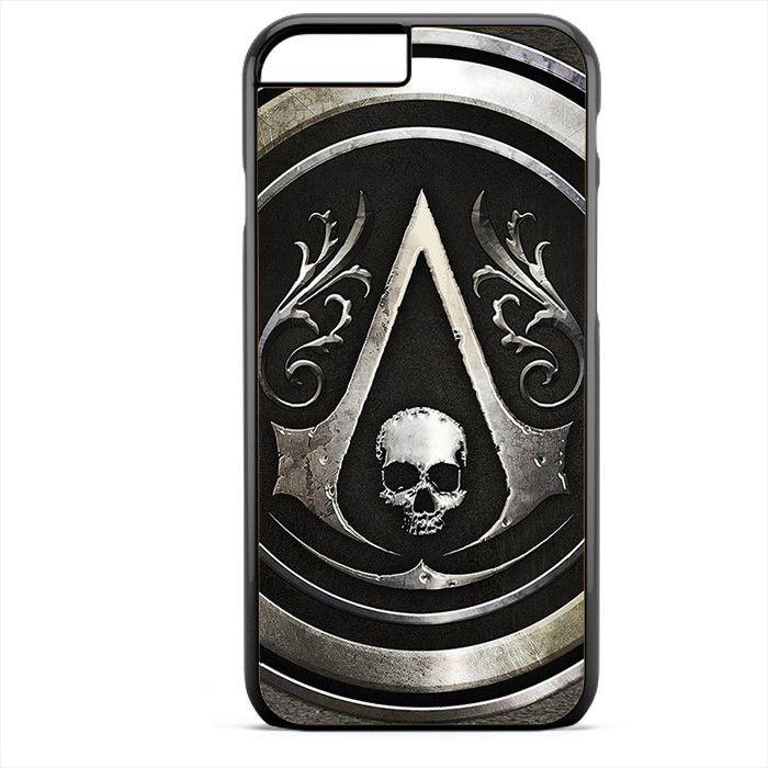 Assassins Creed Black Flag Logo Apple Phonecase For Iphone 4/4S Iphone 5/5S Iphone 5C Iphone 6 Iphone 6S Iphone 6 Plus Iphone 6S Plus