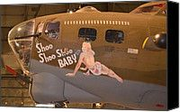World War II Bomber Plane Photograph