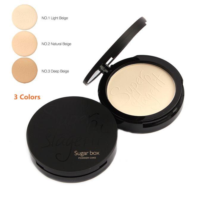 Boîte à sucre Maquillage Fondation Fabuleux Pressée Visage Make Up Cosmétiques Poudre avec Éponge Soleil Bloc et Correcteur Poudre Palette
