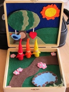 216 best images about drama play forest on pinterest for Cardboard cigar box crafts