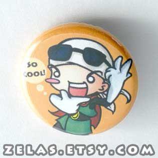 DBZ  Great Saiyaman Gohan Button, $2.00