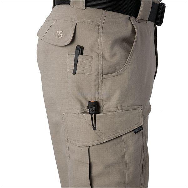 Tru-Spec spodnie taktyczne 24/7 ASCENT coyote P/C - Military.pl - AirSoft - ASG, wiatrówki, militaria, odzież militarna, takatyka, noże, plecaki, zegarki - Military.pl