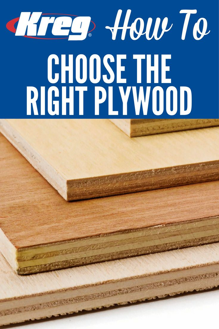 How To Choose the Right Plywood | Plywood is a great material for building projects. But not all plywood is created equal. Here's what you need to…