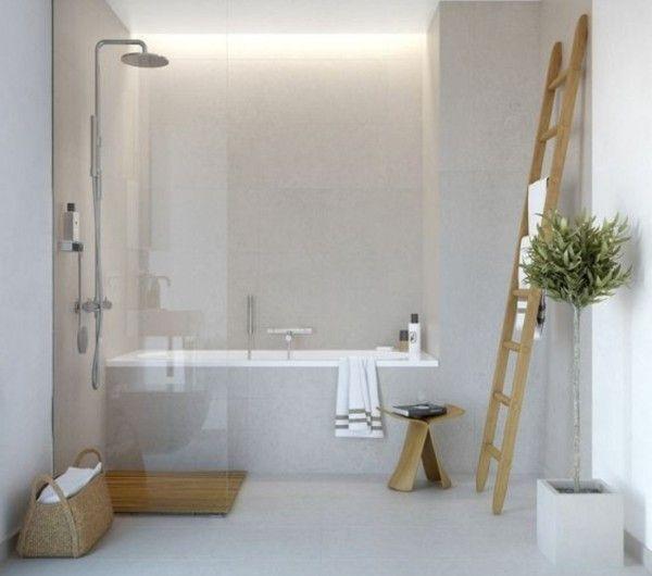 Oltre 1000 idee su carrelage gris clair su pinterest for Luminaire pour salle de bain