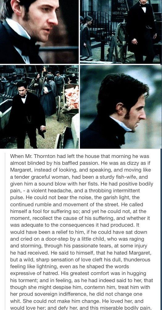 North & South #North #and #South #John #Thornton #Margaret #Hale #Elizabeth #Gaskell #Richard #Armitage