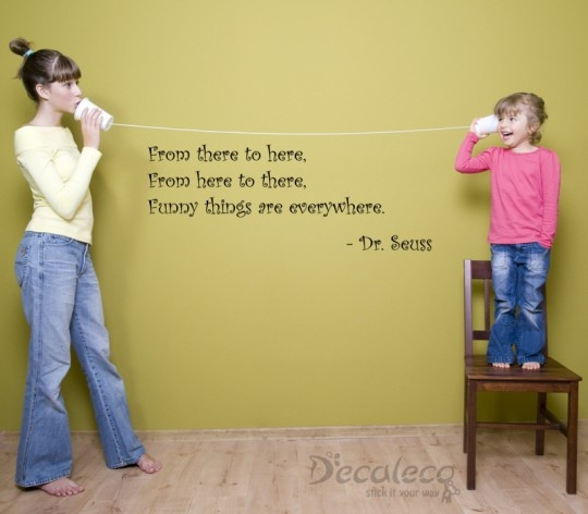 """Quotes About Saying Stupid Things: """"From There To Here, From Here To There, Funny Things Are"""
