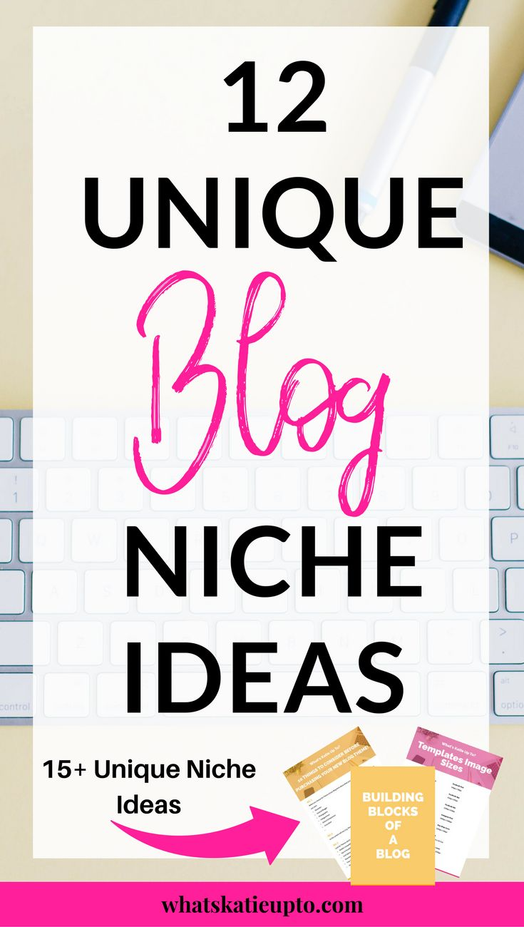 12 Unique Blog Niche Ideas, Blog Niche Ideas for you to download for free as well as post on best wordpress Themes ever!!! Check it out NOW! Blogging Tips, Blog Advice, Blog Theme, Niche Ideas, Blog Niche | #bloggingtips #niche #blogniche