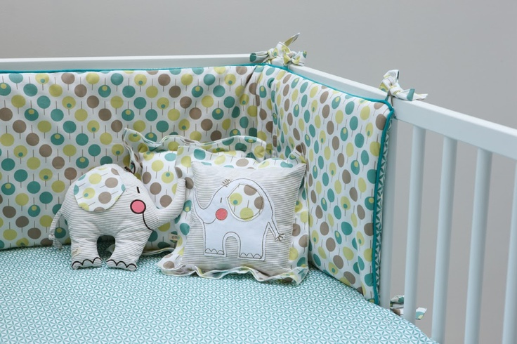 Ella & Otto Bumper & Sheet Set Lollipop Sea Design