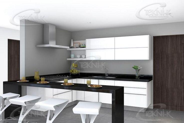 de 1000 ideas sobre Cocina De Granito Negro en Pinterest  Cocina de