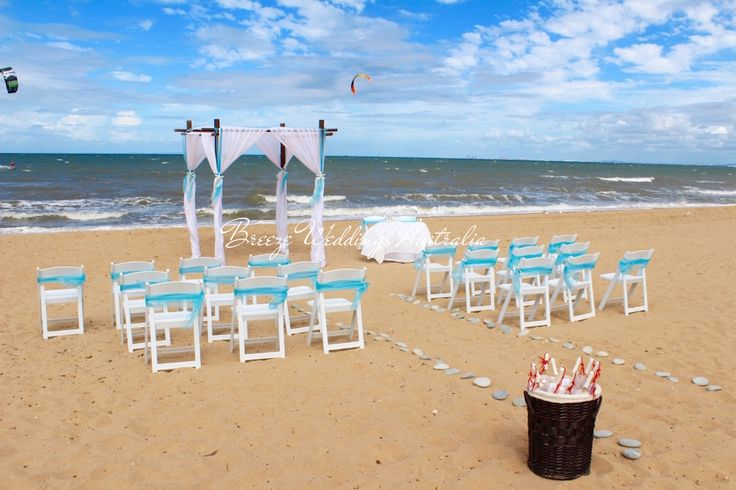 Aqua blue beach themed ceremony Suttons Beach Redcliffe ‪ Styling by www.breezeweddings.com.au #‎redcliffewedding‬ ‪#‎suttonsbeachwedding‬ ‪#‎beachwedding‬ ‪#‎breezeweddingsaustralia‬ ‪#‎suttonsbeach‬ ‪#‎wedding‬ ‪#‎australia‬ ‪#‎australiawedding‬ ‪#‎bambooarch‬ ‪#‎chuppah‬ ‪#‎свадьба‬ ‪#‎свадьбававстралии‬‬ ‪#‎свадьбанапляже #barefootwedding   #aquabluewedding