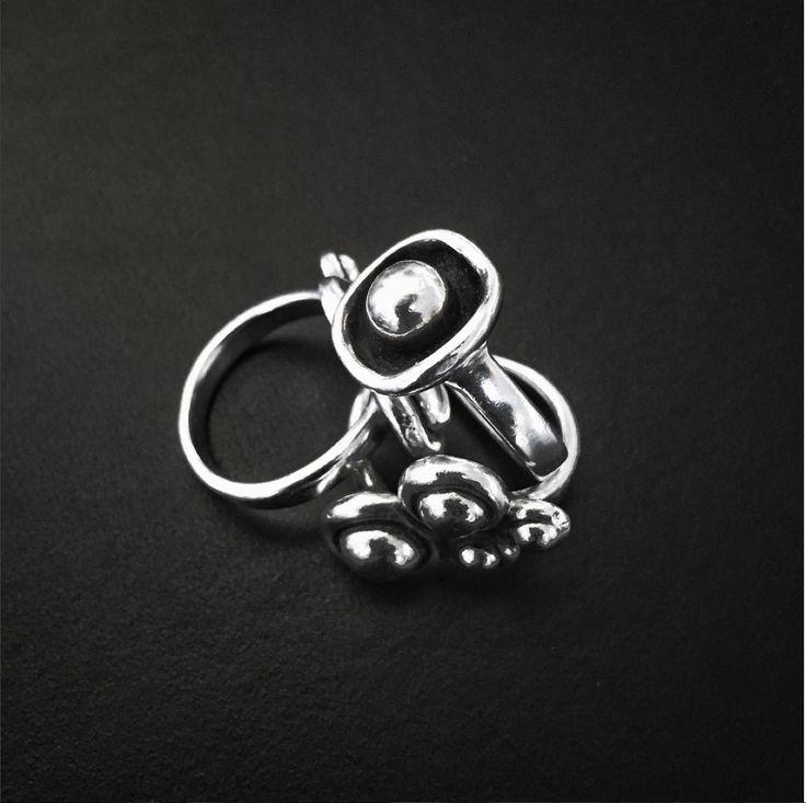 Rings from Clan of Dk #SterlingSilver #Rings #Danishdesign