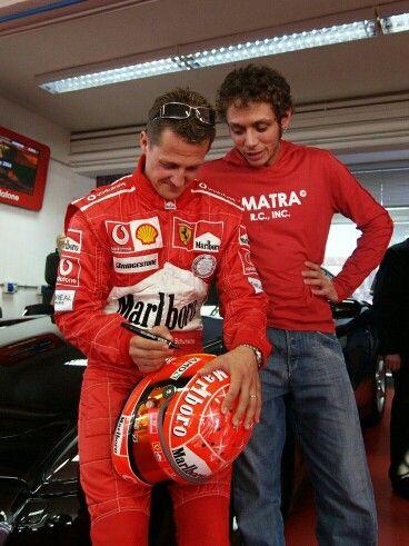 Vale & Michael Schumacher