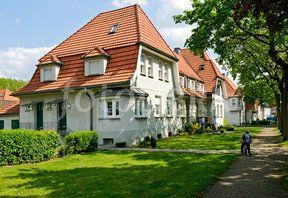 Miners housing estate, Bottrop, Germany.