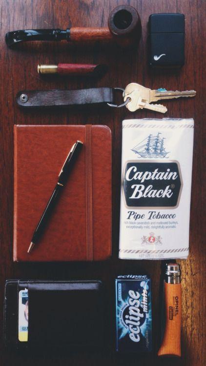 #Pipe #Tobacco #lighter #Captain_Black
