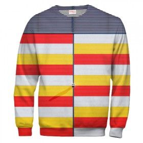 STRIPES & BLOCKS Sweatshirt