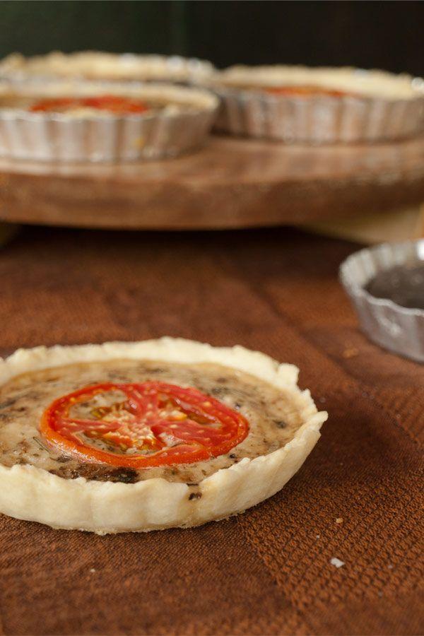 Savory Summer Tarts Recipe — Dishmaps