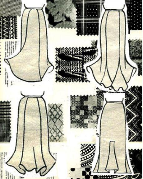 Юбки-годе: 5 удачных ретро-моделей (выкройки - схемы) - «Ретро стиль, мода и шитье»