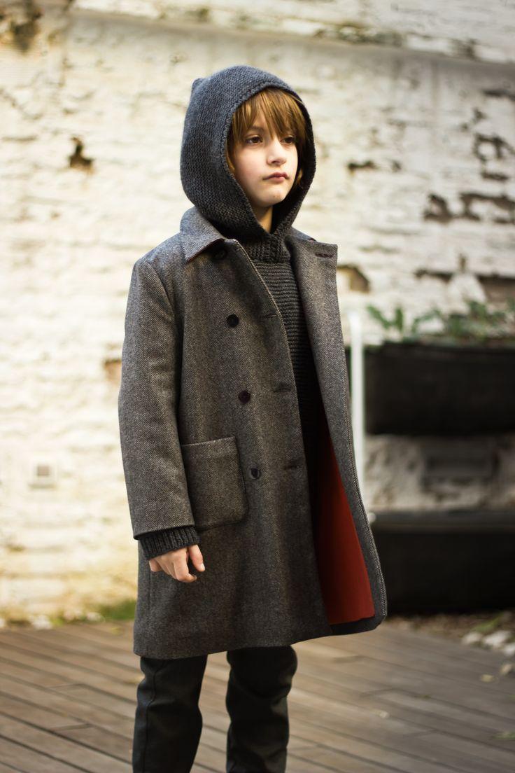 Lucero Coat #motoreta #kids AW1415 #lookbook