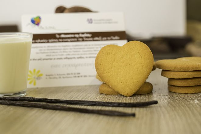 Το Μπισκότο της Καρδιάς #kyvelipatisserie #kyvelicheesecake  #mazigiatopaidi #biscuit #love