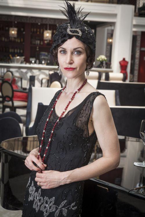 Katherine Kelly as Mae Rennard in Mr Selfridge