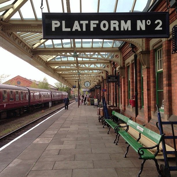 Great Central Railway Station . Loughborough, Leicestershire,  United Kingdom