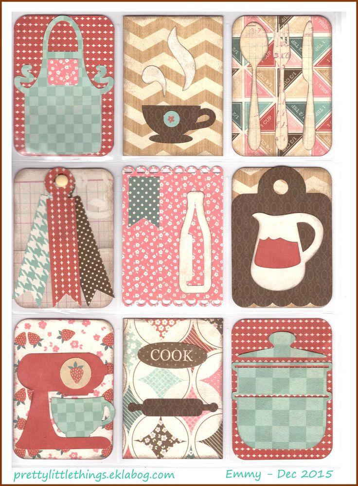 Cooking pocket letter - Scrapbook.com