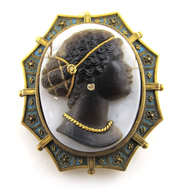 256 Best Images About Blackamoor And Black Cameos On