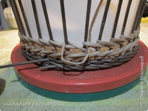 Поделка изделие Плетение ПУТАНКА в подробностях МК Трубочки бумажные фото 18