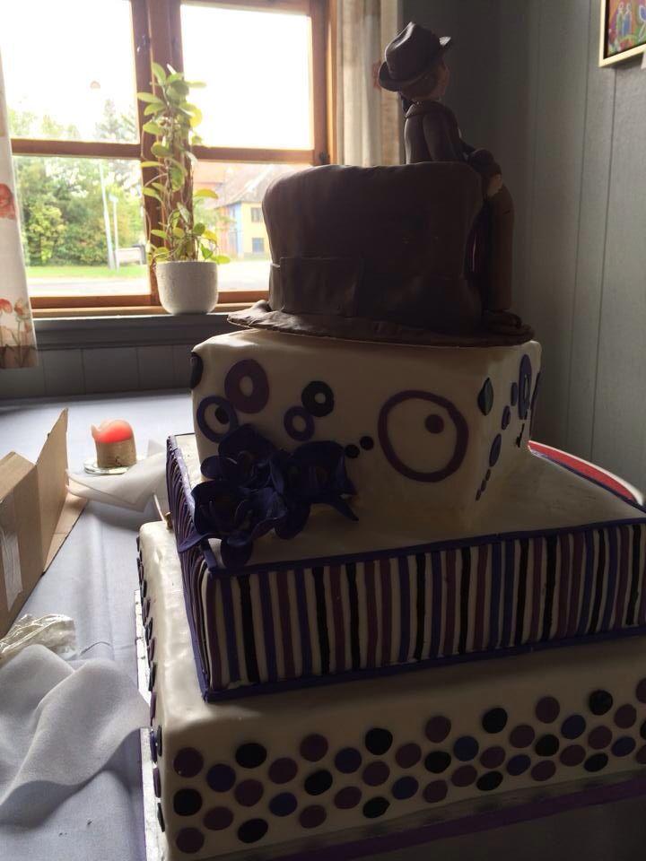 Indianer jonens weddingcake