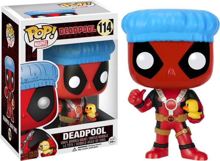 Pop! Marvel - Deadpool - Deadpool [Bath Times]