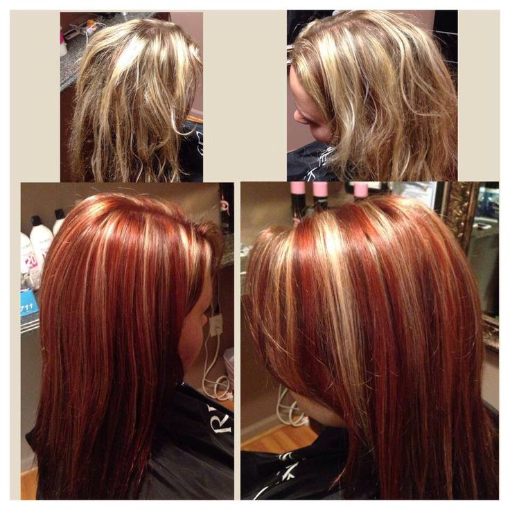 Blonde hair red highlights pics the best blonde hair 2017 best 25 blonde with red highlights ideas on pmusecretfo Gallery
